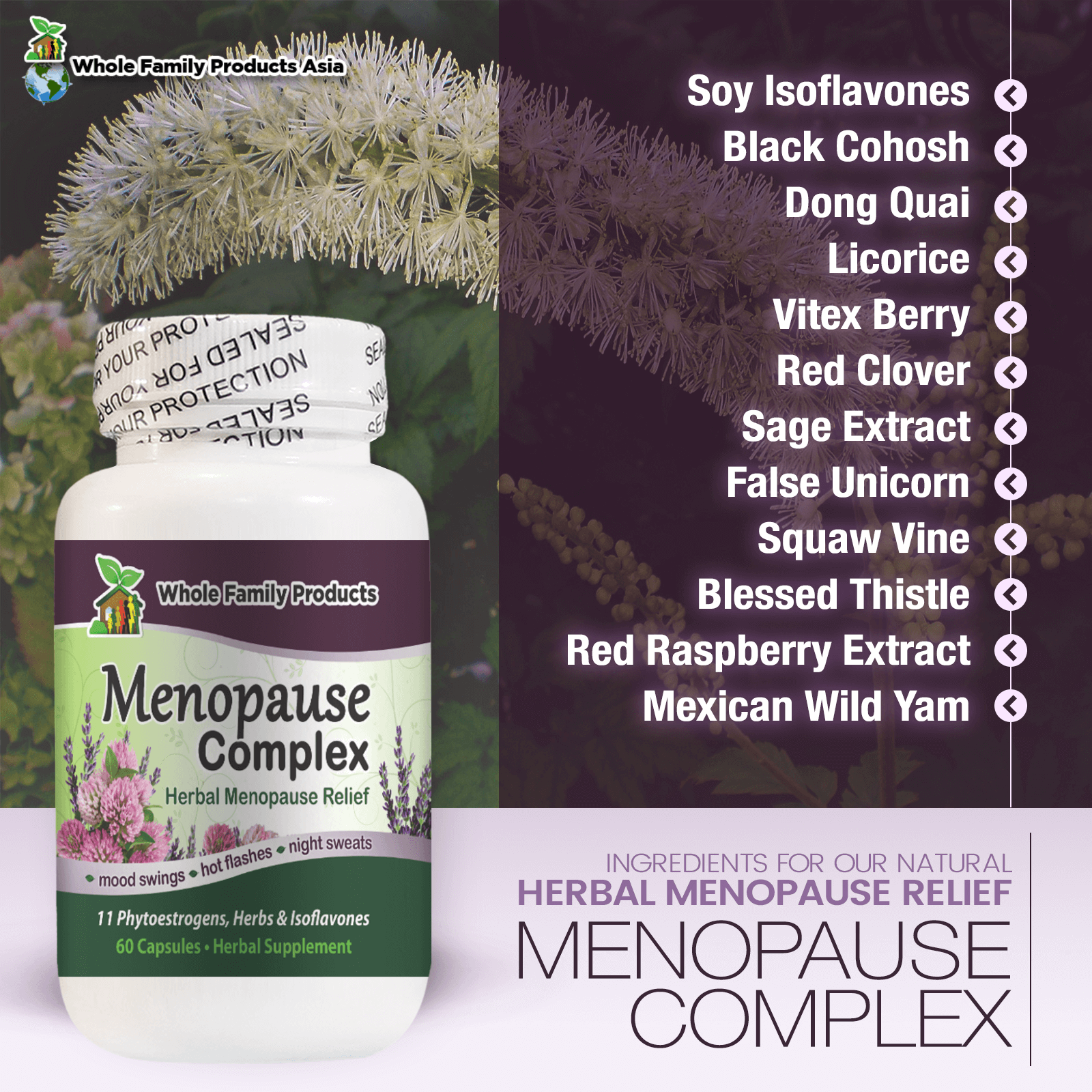 Menopause Complex WFP Asia Infographics