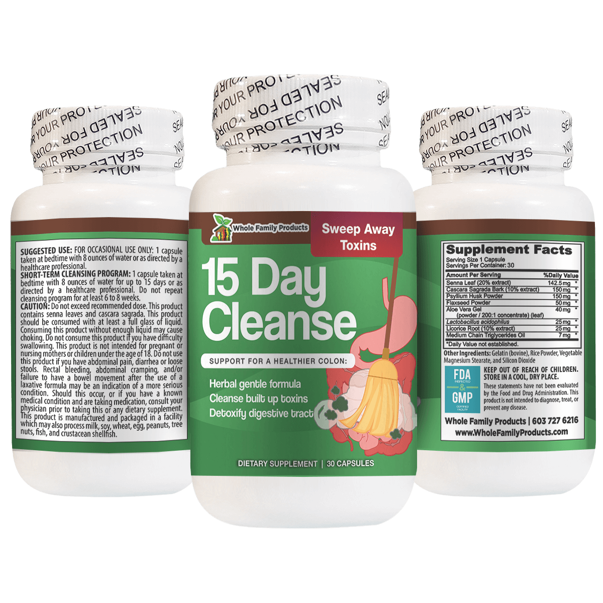15 Day Cleanse Helps Detoxify Digestive Tract
