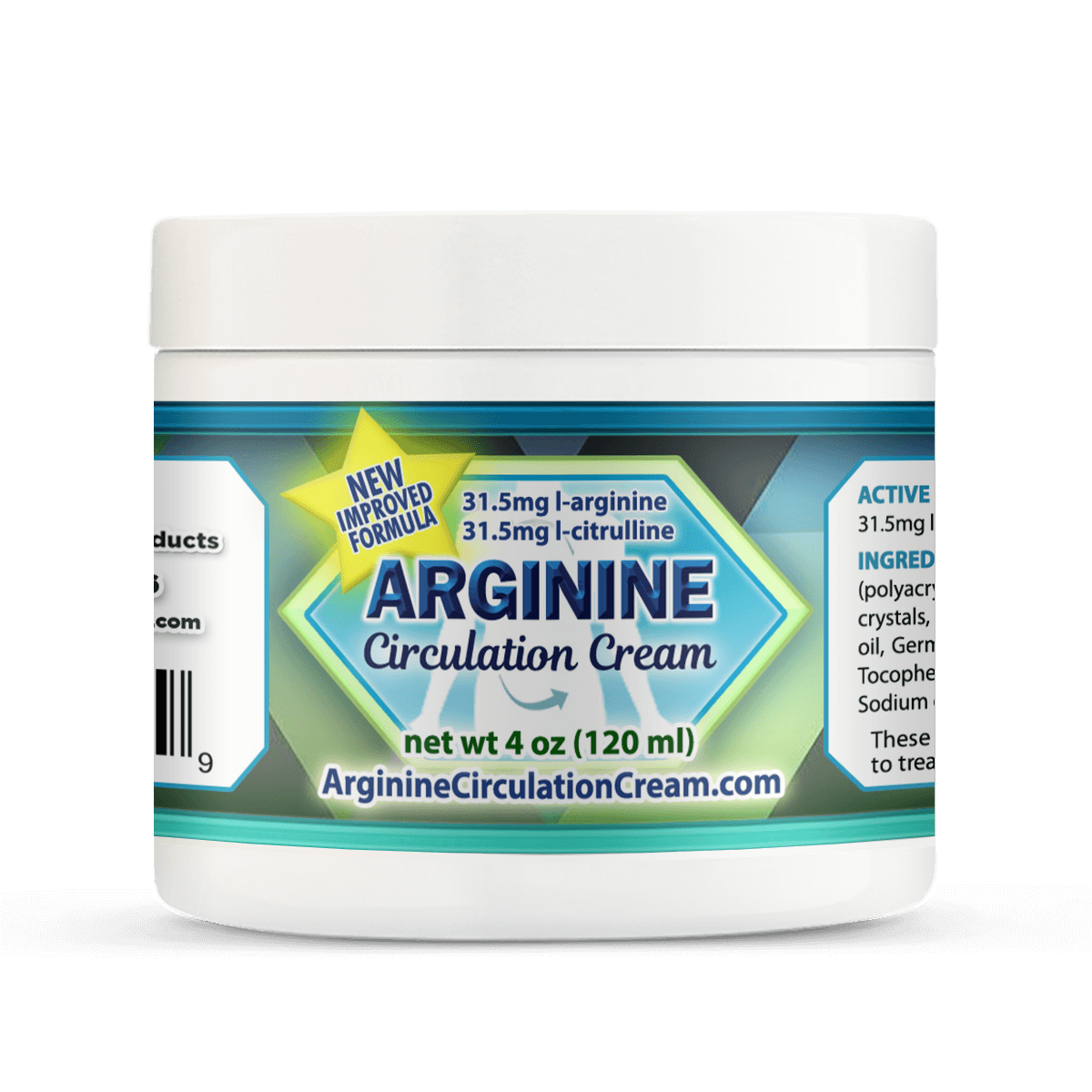 Best L Arginine Blood Circulation Cream
