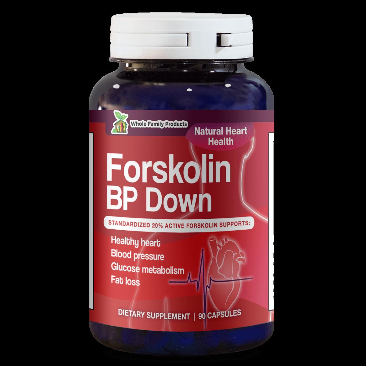 Forskolin BP Down 90 Capsules Best Forskolin Supplement